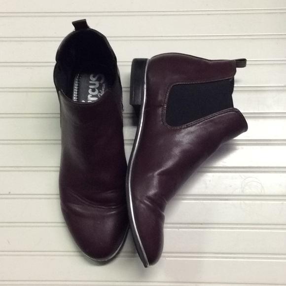 51cb56da025f73 Circus by Sam Edelman Shoes - Circus by Sam Edelman maroon booties